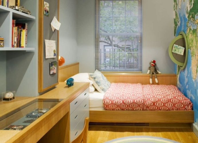 Дизайн маленькой комнаты