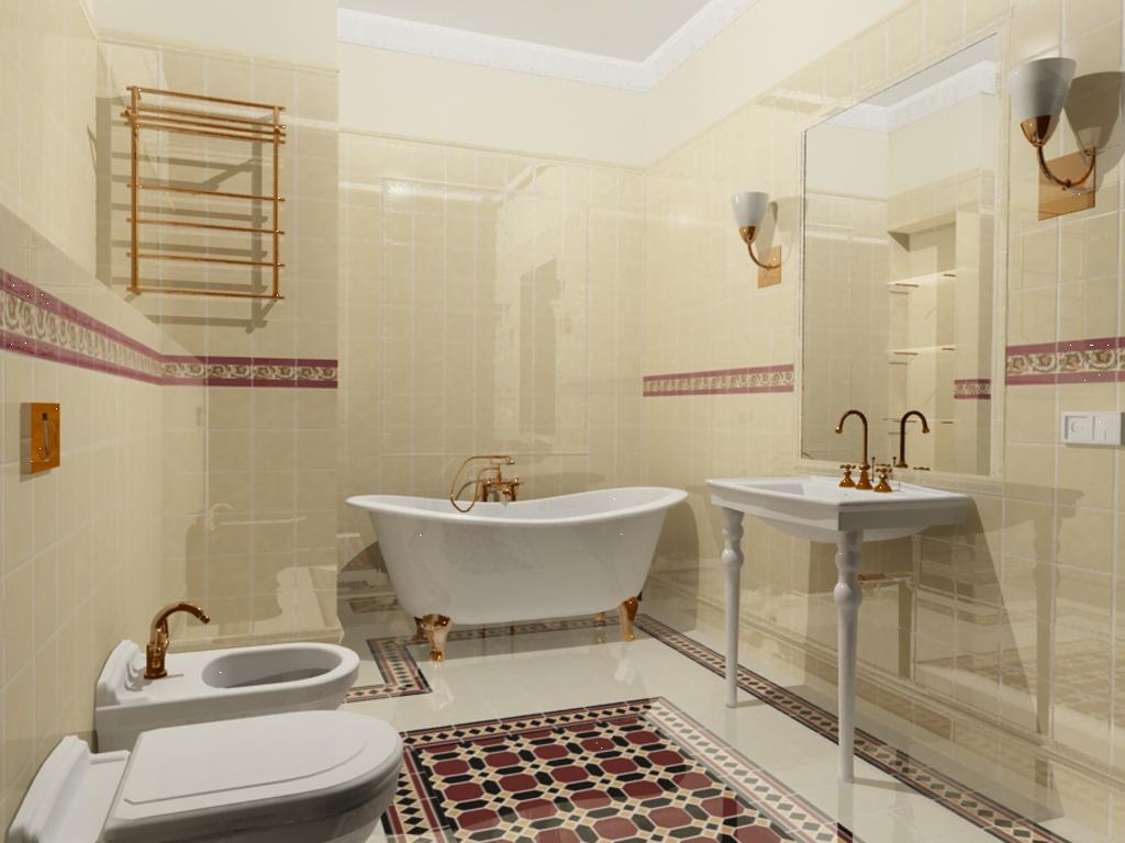 Интерьер ванной комнаты