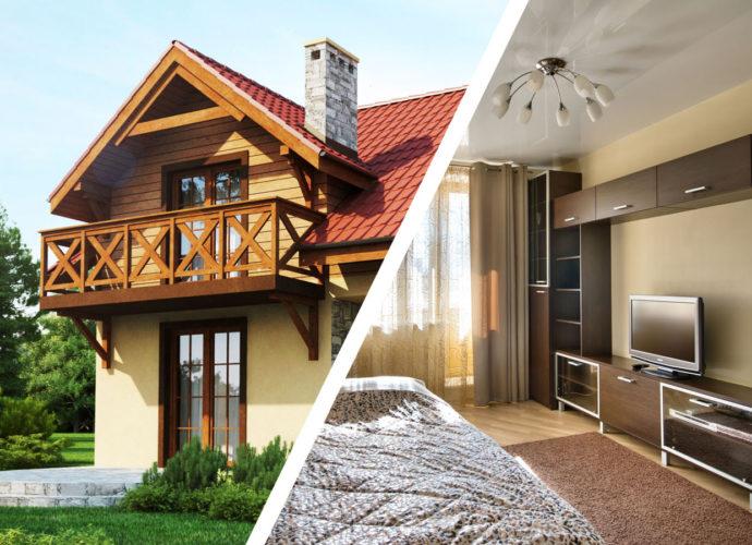 Квартира или коттедж